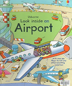 Look Inside an Airport(立體翻翻書)